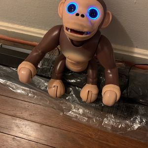 Zoomer Chimp Spin Master Interactive Robot Chimpanzee for Sale in Brentwood, MD