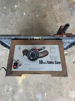 Table Saw for Sale in Land O Lakes, FL