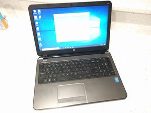 "HP 250 G3 15.6"" Notebook HP Laptop i3 500GB 4GB Windows 10 Pro for Sale in Lombard, IL"