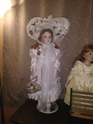 Collectable porcelain glass-doll for Sale in Philadelphia, PA