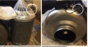 iPower 6 Inch 442 CFM Inline Fan Carbon Filter for Sale in San Francisco, CA