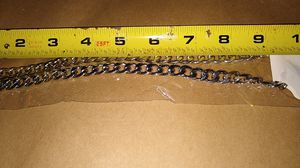 20 inches silver Cuban chain for Sale in Lakewood Township, NJ