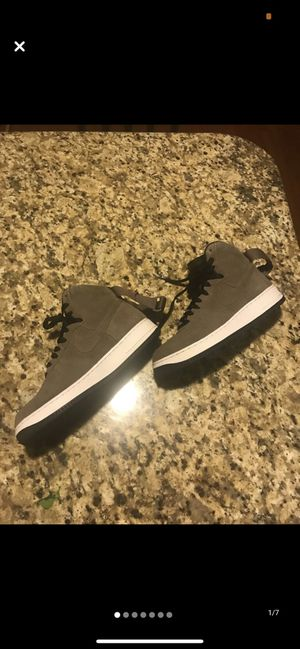 Nike brown and white high-tops for Sale in Columbus, OH