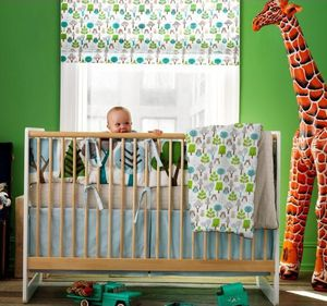 Dwell Studio Owls Sky 4 piece crib set for Sale in Davie, FL