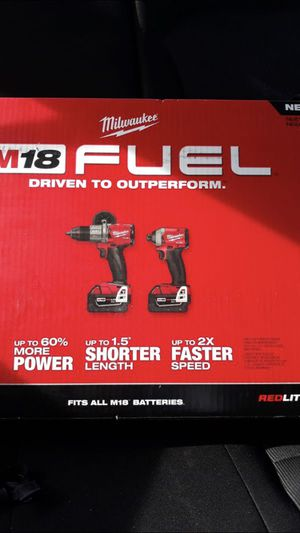 Milwaukee Fuel brushless M18 nuevo for Sale in Silver Spring, MD