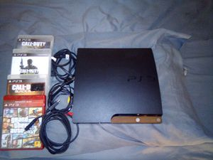 Slim 80Gb PS3 for Sale in Fall River, MA