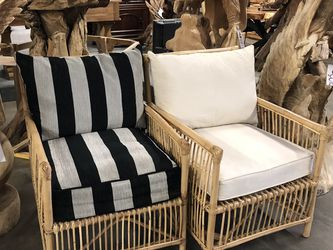 New Outdoor Seating! Boho Pagoda Style Bamboo Patio Chairs $149 Each! for Sale in Vancouver,  WA
