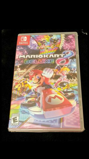 NINTENDO SWITCH MARIO KART 8 DELUXE BRAND NEW SEALED for Sale in Riverside, CA