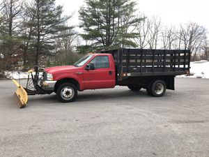 F450 Powerstroke Diesel Dump with Fisher plow for Sale in Upton, MA