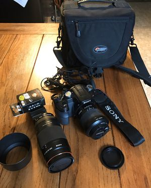 Sony DSLR A100 camera for Sale in Seattle, WA