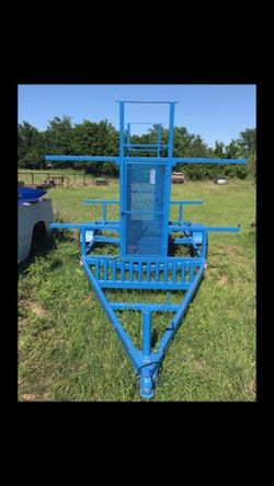 Kayak trailer Holds 8 for Sale in Whitney,  TX