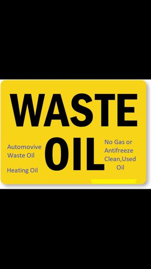 Free used motor oil for Sale in Elgin, IL
