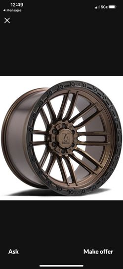 22x12 AXE Icarus Bronze Black Lip Jeep Wrangler Wheels for Sale in Delray Beach,  FL
