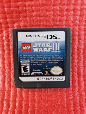 Lego star wars 3 Nintendo ds for Sale in Norwalk, CA