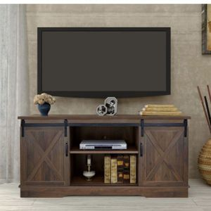 """Forest Series Wooden TV Stand for TVs up to 65"""" for Sale in La Mirada, CA"""