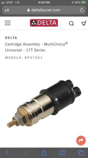 Cartridge for Delta 17T series for Sale in Bakersfield, CA