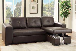 SOFA BED WITH STORAGE NEW IN BOX MUEBLE CAMA NUEVO EN SU CAJA for Sale in Miami, FL