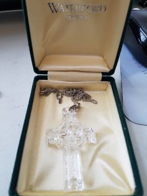 Official Waterford Crystal cross for Sale in Kent, WA