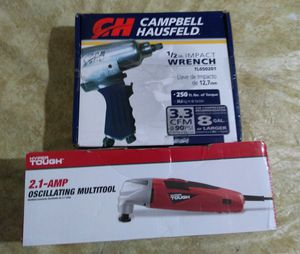 Compressor impact wrench and grinder for Sale in Avondale, AZ