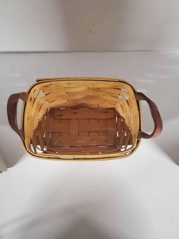 1997 Longaberger Basket Handwoven by TM