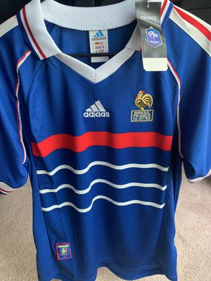 Retro 1998 final France jersey World Cup for Sale in Plymouth, MN