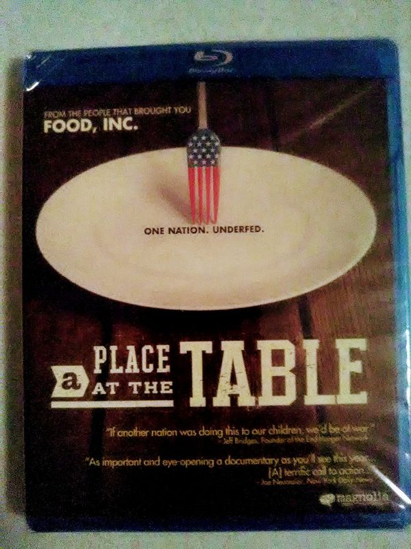 A Place At the Table Blu-ray