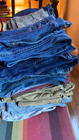 10 Size 14 Boys Pants for Sale in Columbia, MD