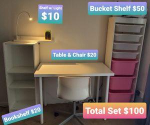 Desk & Shelve Set for Sale in Beaverton, OR