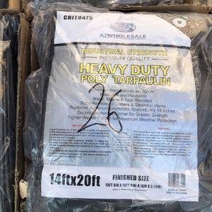 Heavy Duty Poly Tarpaulin 14x20 Feet for Sale in El Monte, CA