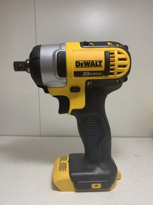 Mid impact wrench Dewalt 1/2 inch (ONLY TOOL BRAND NEW)SOLO LA HERRAMIENTA for Sale in Dallas, TX