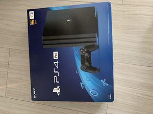 PS4 pro 1tb brand new for Sale in Davie, FL