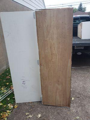 Wood Storage Cabinet Good for Garage or Basement for Sale in Lodi, NJ