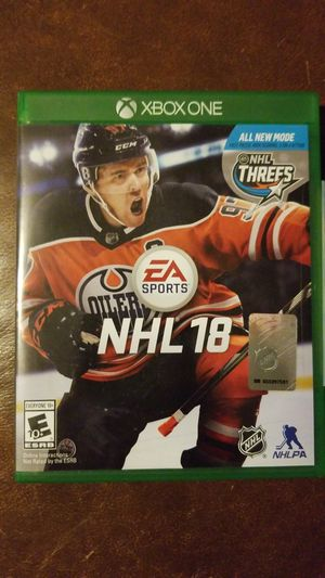 NHL 18 XBOX ONE for Sale in Tampa, FL