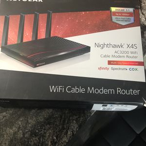 Netgear Wi-Fi cable modem router for Sale in Bakersfield, CA