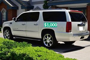 $1.000 2OO8 Cadillac Escalade Clean Tittle!Runs and Drives great.Nice Family car!one owner!🔑🔑 for Sale in Chandler, AZ