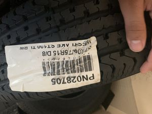 205 75 15 trailer tires for Sale in North Las Vegas, NV