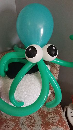 Octopus balloons and reefs for Sale in Raleigh, NC