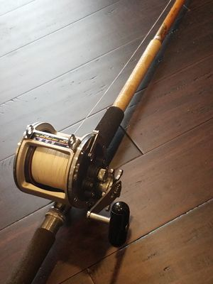 Deep Sea FISHING ROD and REEL for Sale in Portland, OR
