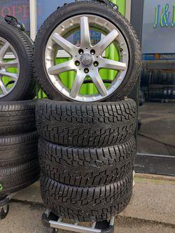 17' Mercedes 5x112 Wheels & 225/45/17 GT Radial 95% for Sale in Everett,  WA