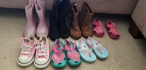 Girls size 7 shoes and boots for Sale in Lynchburg, VA