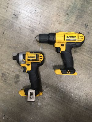 20v Max Drill Driver and Impact (Tools Only) for Sale in Fort Worth, TX