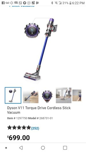 BRAND NEW DYSON V11 TOURQUE DRIVE VACCUM for Sale in Kansas City, KS