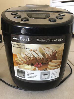 West Bend breadmaker for Sale in Boca Raton, FL