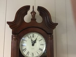 Howard Miller Everett Chiming Wall Clock for Sale in Nokesville, VA