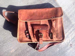 Leather messenger bag for Sale in Henderson, NV