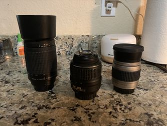 Nikon Set Up - Good Starter Kit for Sale in Gig Harbor,  WA
