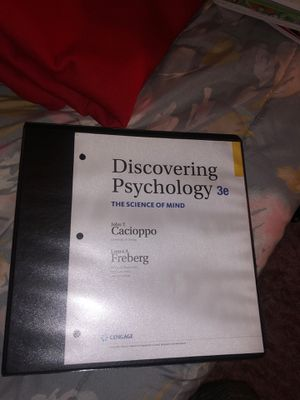 General Psychology 1300 Textbook for Sale in Lubbock, TX
