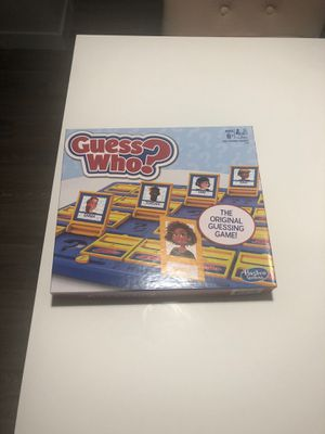 Guess Who? Hasbro Game for Sale in Hollywood, FL