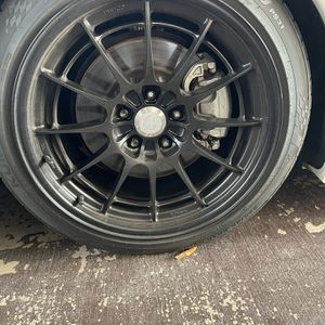 Black nto3 M Wheels 18x9.5 for Sale in Claremont, CA