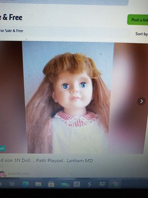3ft Patti playpal. Kid size doll for Sale in Glenarden, MD